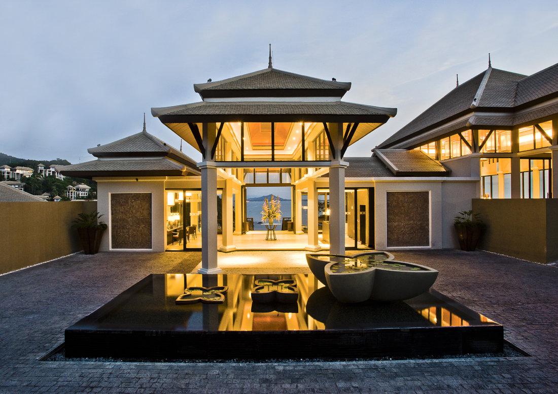 banyan tree samui luxus hotel koh samui thailand. Black Bedroom Furniture Sets. Home Design Ideas